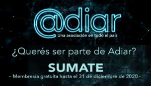 Sumate a ADIAr